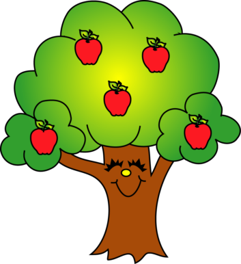 353x386 Tree Apple Clipart, Explore Pictures