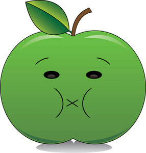 286x300 Apple Clipart Image