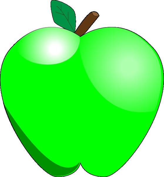 558x599 Green Apple Clip Art Tumundografico 2