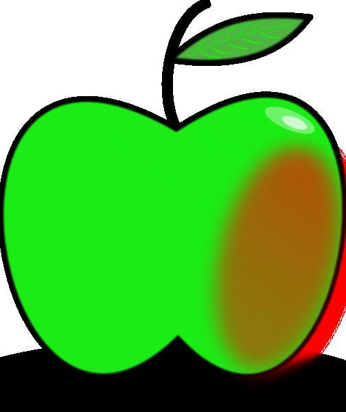 504x600 Simple Apple Clip Art