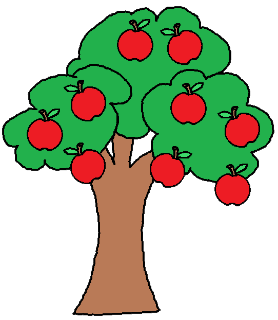 542x622 Top 89 Apple Tree Clip Art