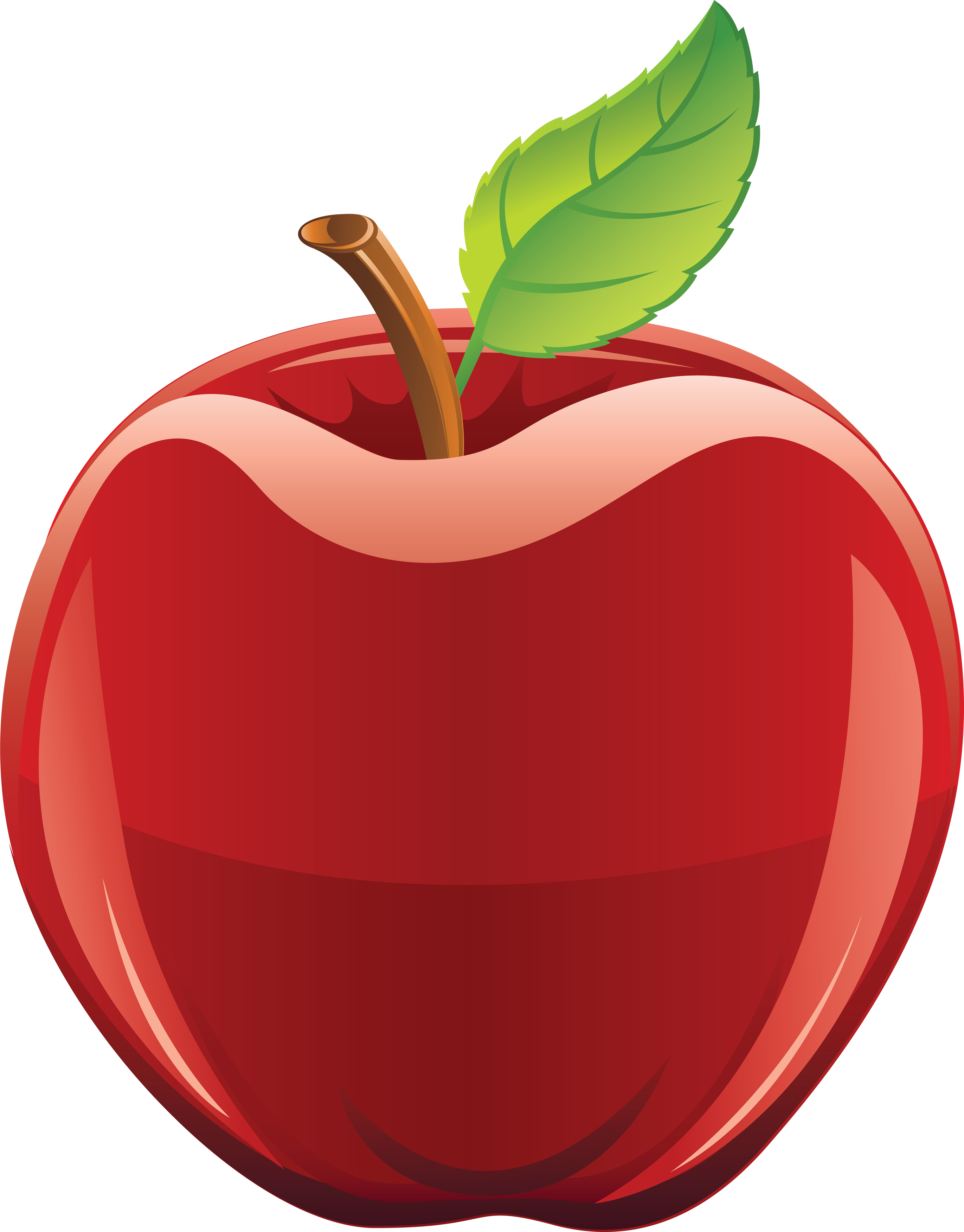 2742x3504 Cute Apple Clip Art Free Clipart Apple
