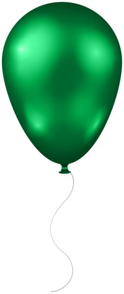 Green Balloon Clipart