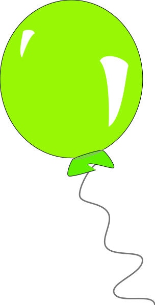 304x596 Graphics For Green Balloon Graphics