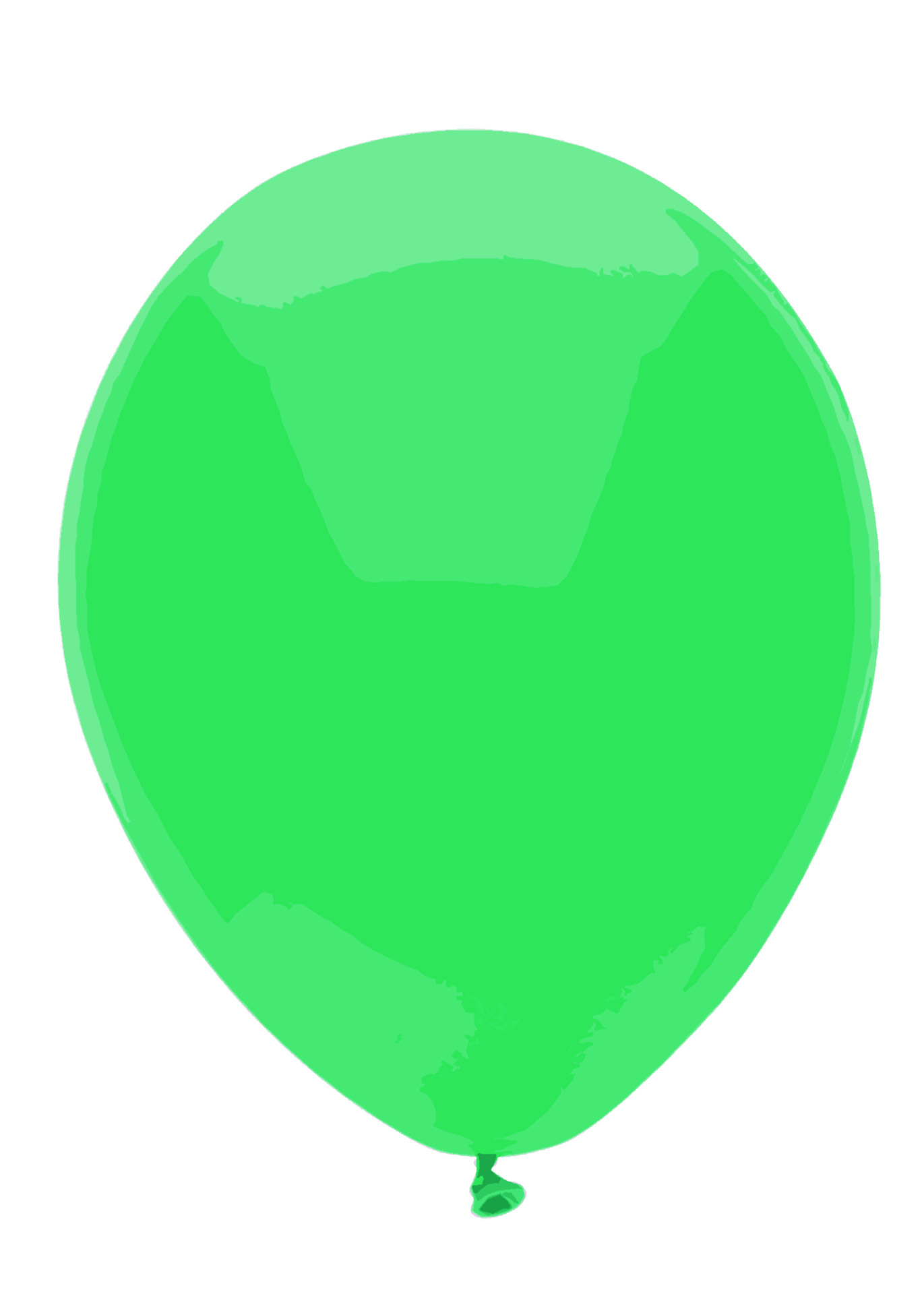 1371x1920 Green Balloon Free Stock Photo