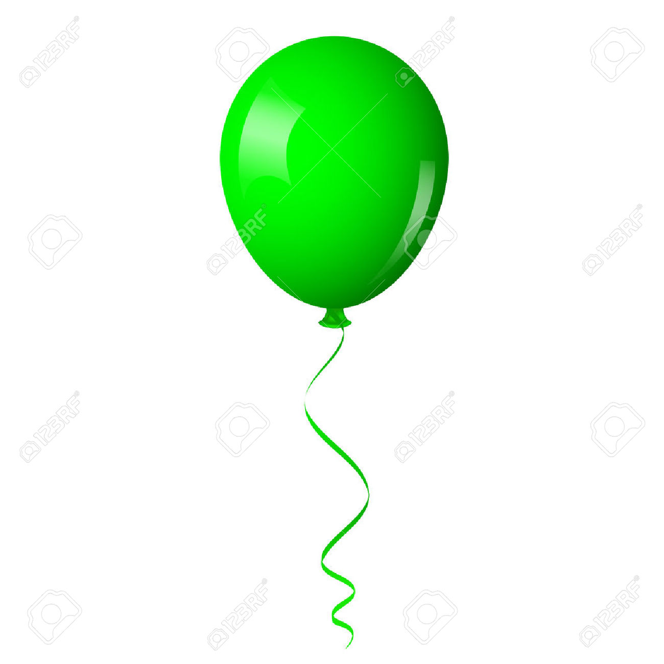 1300x1300 Balloon Clipart Ribbon
