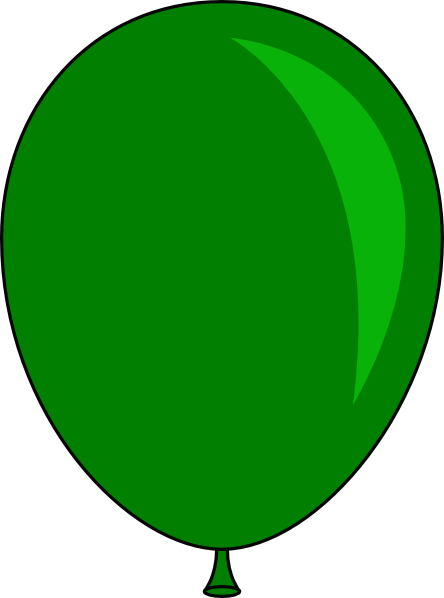 Green Balloon Clipart | Free download best Green Balloon ...