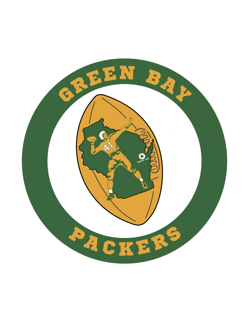 800x1035 Green Bay Logo Clip Art