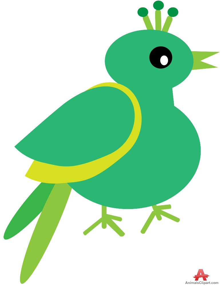 772x999 Clipart Of Green Exotic Bird Free Clipart Design Download