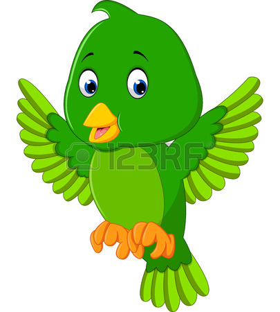 405x450 Cute Blue Bird Cartoon Royalty Free Cliparts, Vectors, And Stock