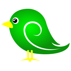 250x250 Green Bird Clip Art Free Borders And Clip Art