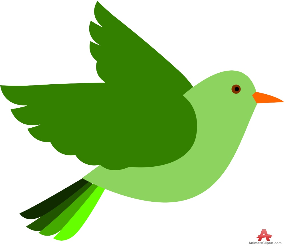 999x867 Green Bird Clipart Free Clipart Design Download
