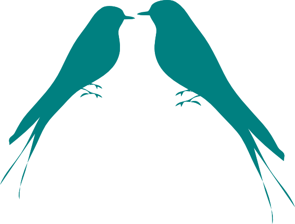 600x455 Love Bird Silhouette Clip Art Geek Green Wallpapers Clipart Image