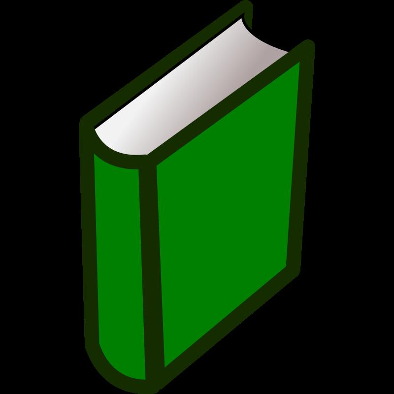 800x800 Book Clipart Green