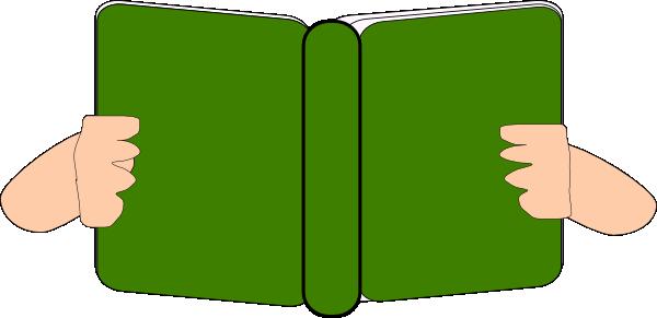 600x291 Green Book Clip Art