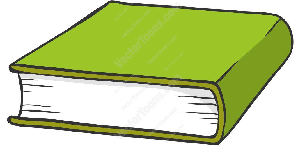 1024x504 Green Hardcover Book Cartoon Clipart