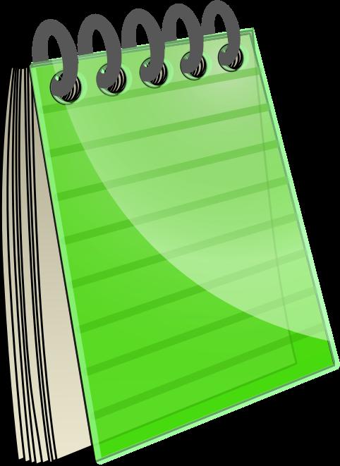 482x661 Notebook Clip Art