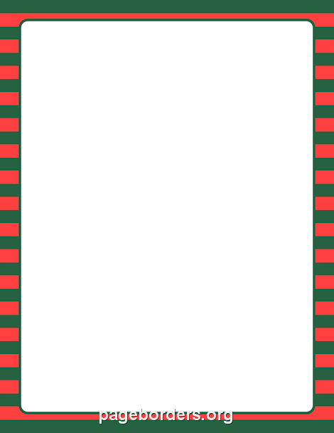 470x608 Green And Red Striped Border Clip Art, Page Border, And Vector