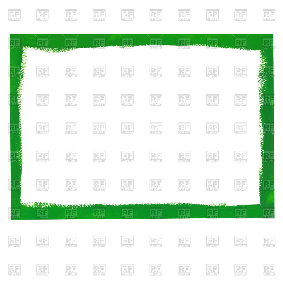 1200x1200 Green Grunge Frame