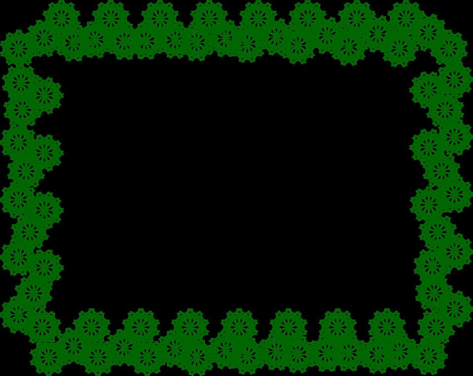958x761 Green Border
