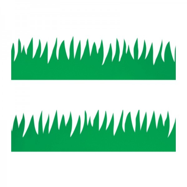 600x600 Classroom Borders With Green Grass Bulletin Board Trimmers