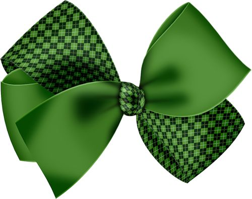 Green Bow Tie Clipart
