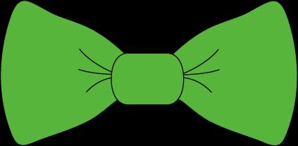 423x207 Green Bow Tie Clip Art