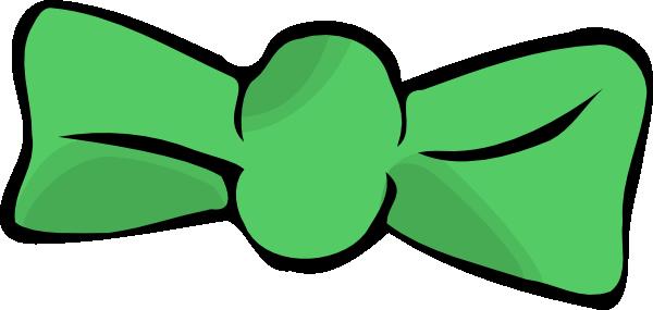 600x285 Green Bow Tie Clip Art