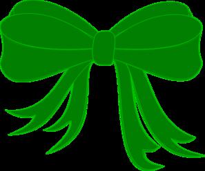 297x249 Pale Green Ribbon Clip Art