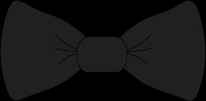 423x207 Black Bow Tie Clip Art Black Bow Tie Image Image