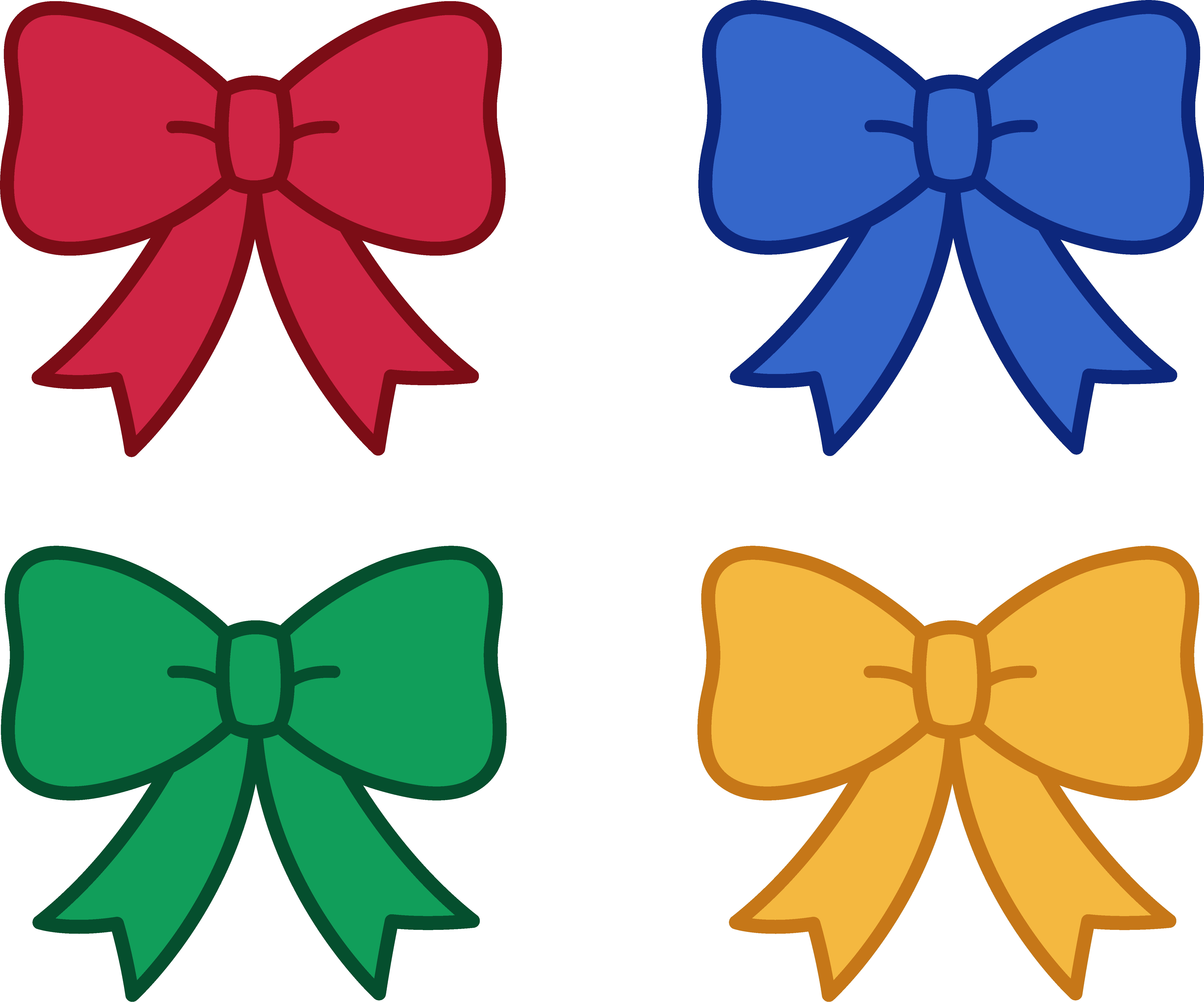 5345x4445 Bow Images Clip Art Many Interesting Cliparts