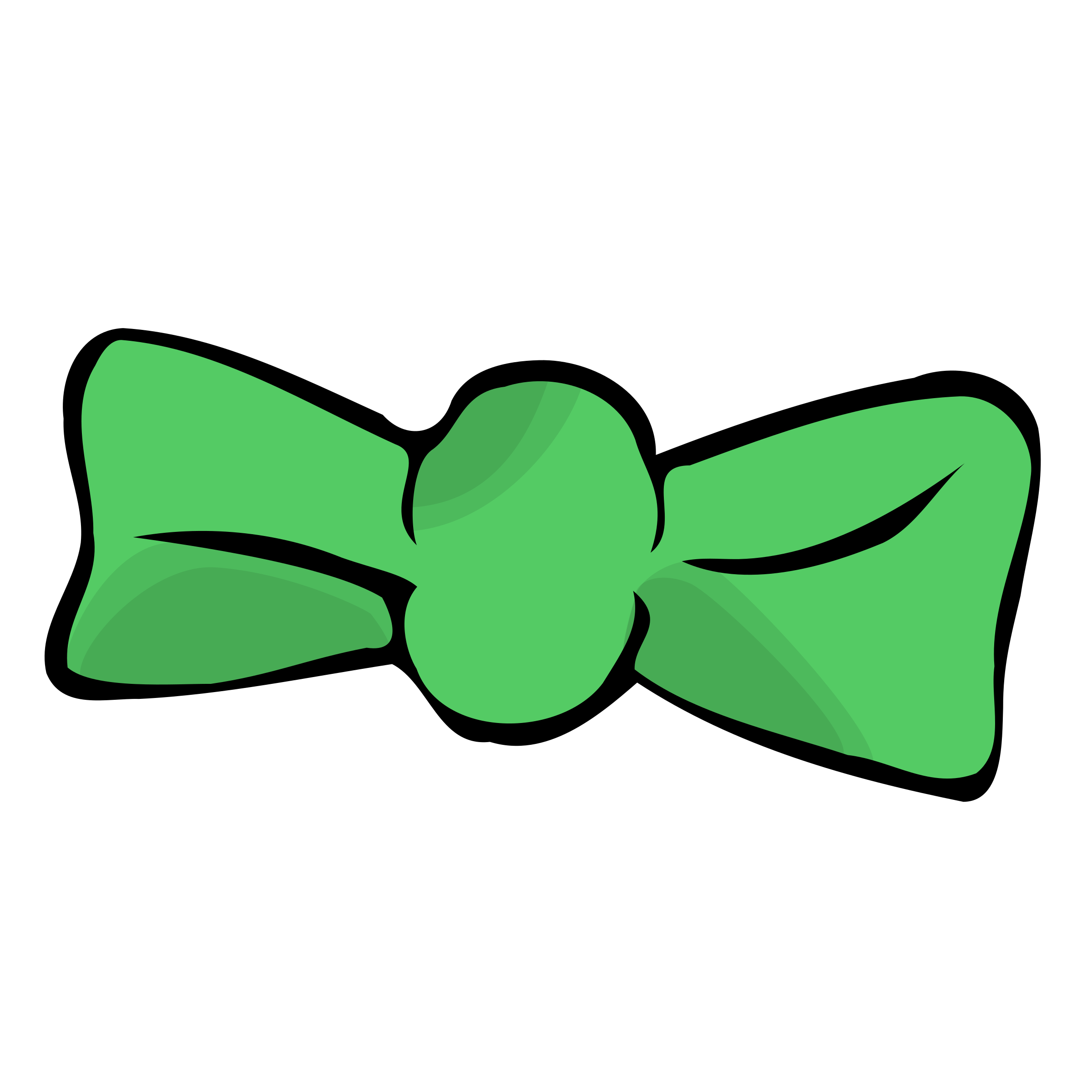 2400x2400 Bow Tie Clipart Lime Green