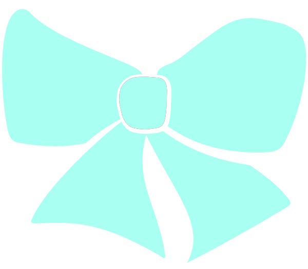 600x524 Bow Tie Clipart Tiffany Blue