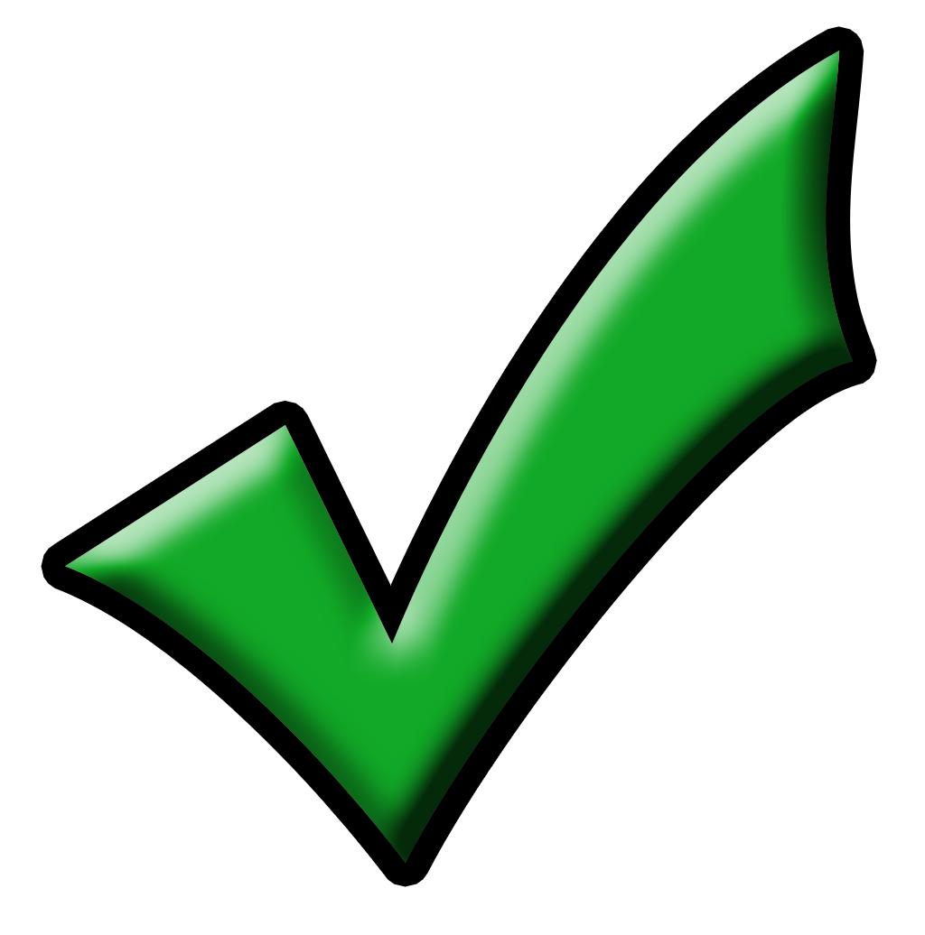 1024x1036 Check Mark Symbol Clip Art