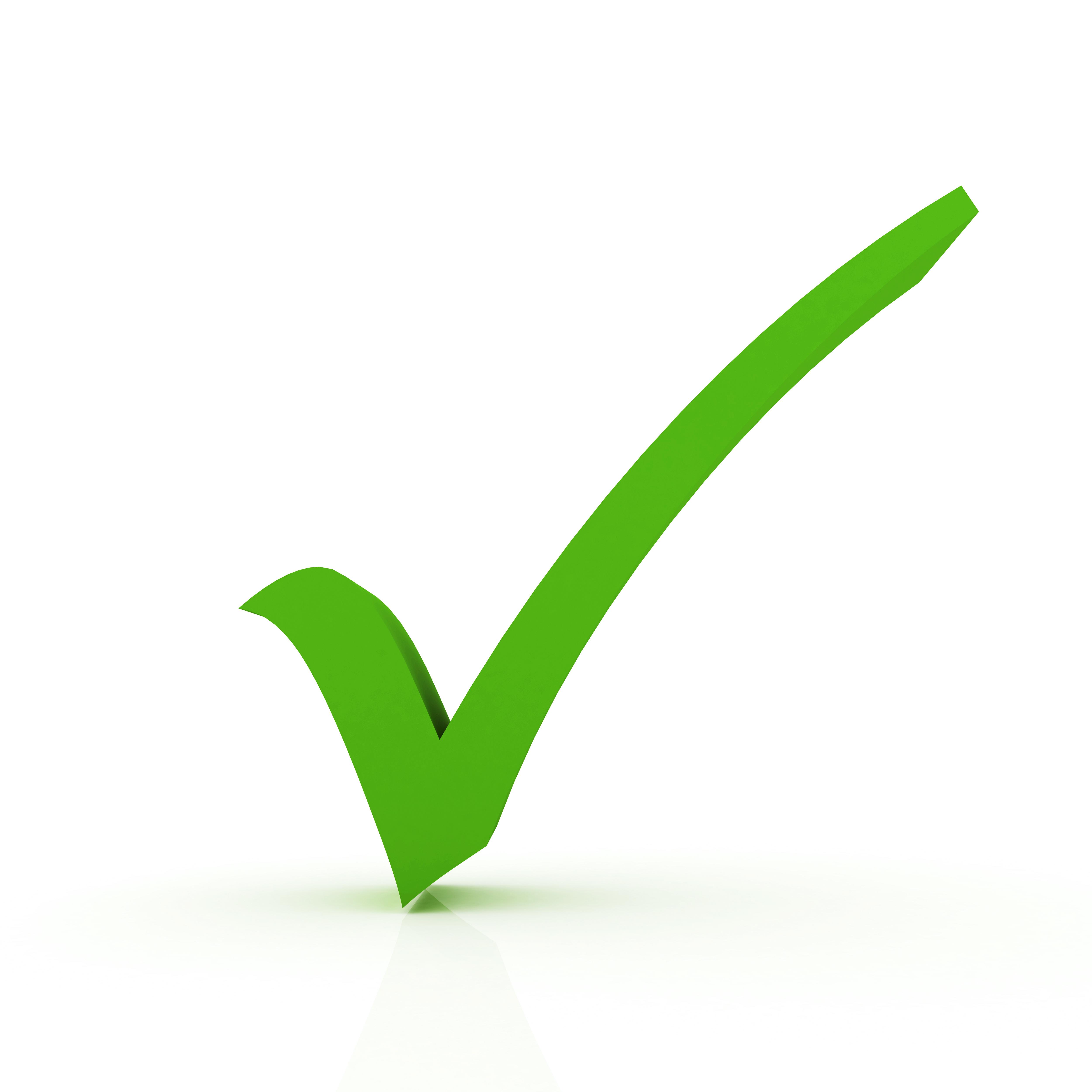 5000x5000 Green Check Mark Clip Art