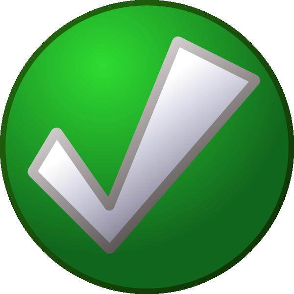 600x599 Green Check Mark Md Clip Art