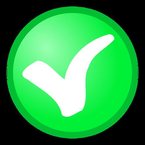 500x500 Green Tick Green Check Mark Clip Art