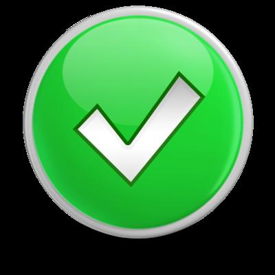 400x400 Luther Vandross Check Mark Clip Art