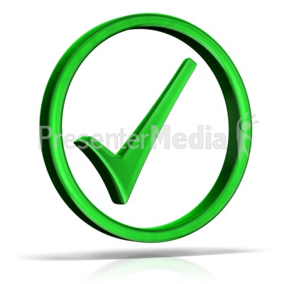 400x400 Check Mark Green