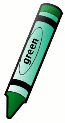 211x400 Crayon Clipart Green Crayon