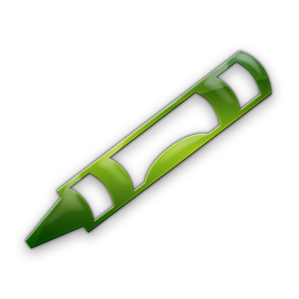 420x420 Traditional Crayon (Crayons) Icon