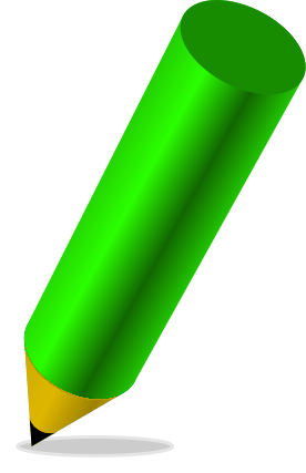 276x427 Crayon Clipart Happy Green