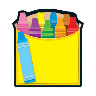 400x400 Crayons Clip Art Free Vector Images