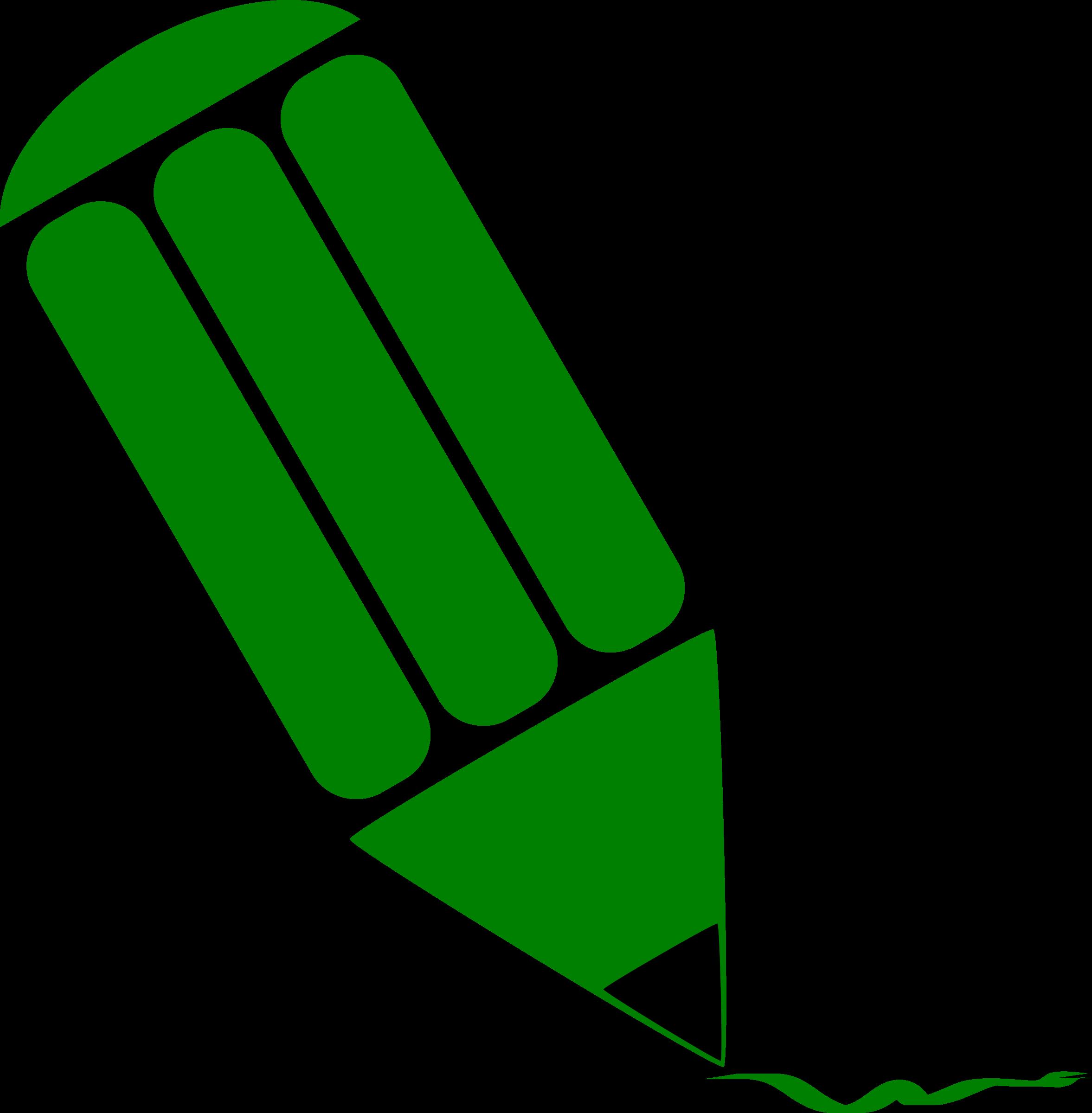 2354x2400 Pen Clipart Green