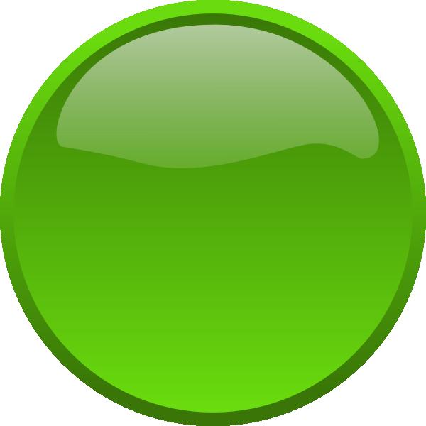 600x600 Button Green Clip Art