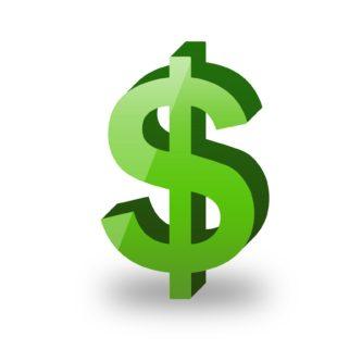 333x333 Green Dollar Sign Clipart Dollar Sign Clipart