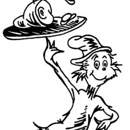 268x268 Eggs And Ham Coloring Page Kids Drawing And Coloring Pages
