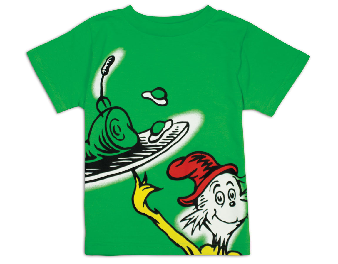 1150x900 Dr Seuss Green Eggs And Ham Graphic T Shirt
