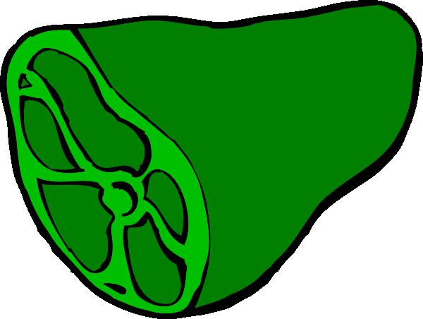 600x452 Green Ham Clip Art