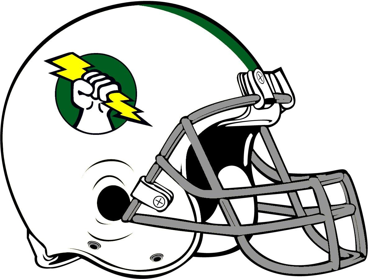 Green Football Helmet Clipart | Free download best Green Football ...